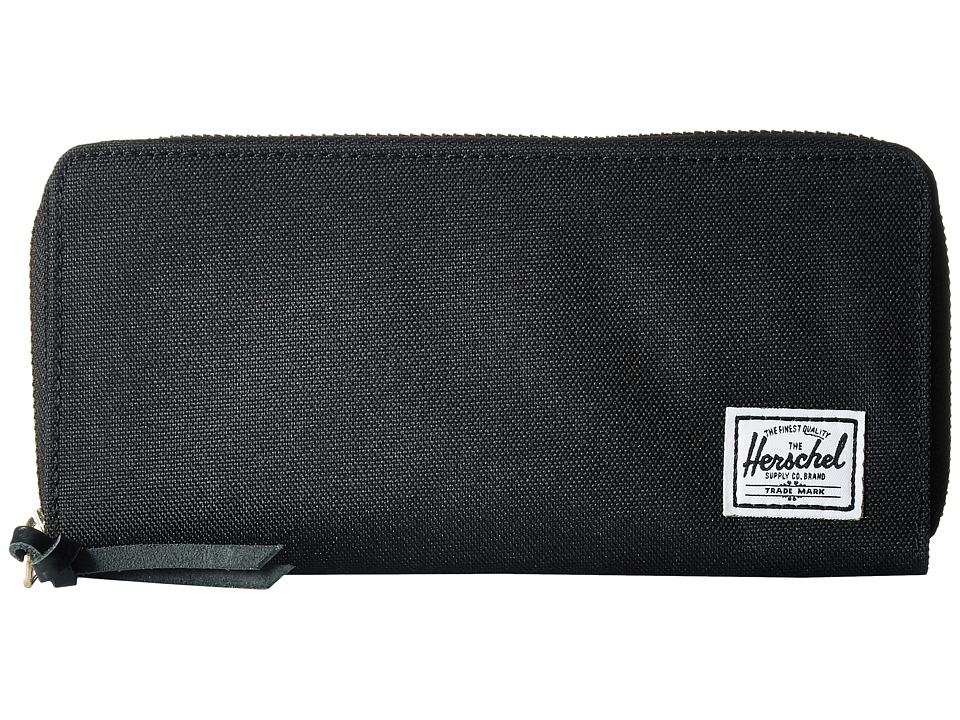 Herschel Supply Co. - Avenue with Zipper (Black 2) Wallet Handbags
