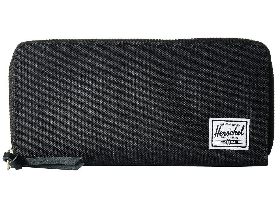 Herschel Supply Co. - Avenue with Zipper (Black 2) Wallet Handbags