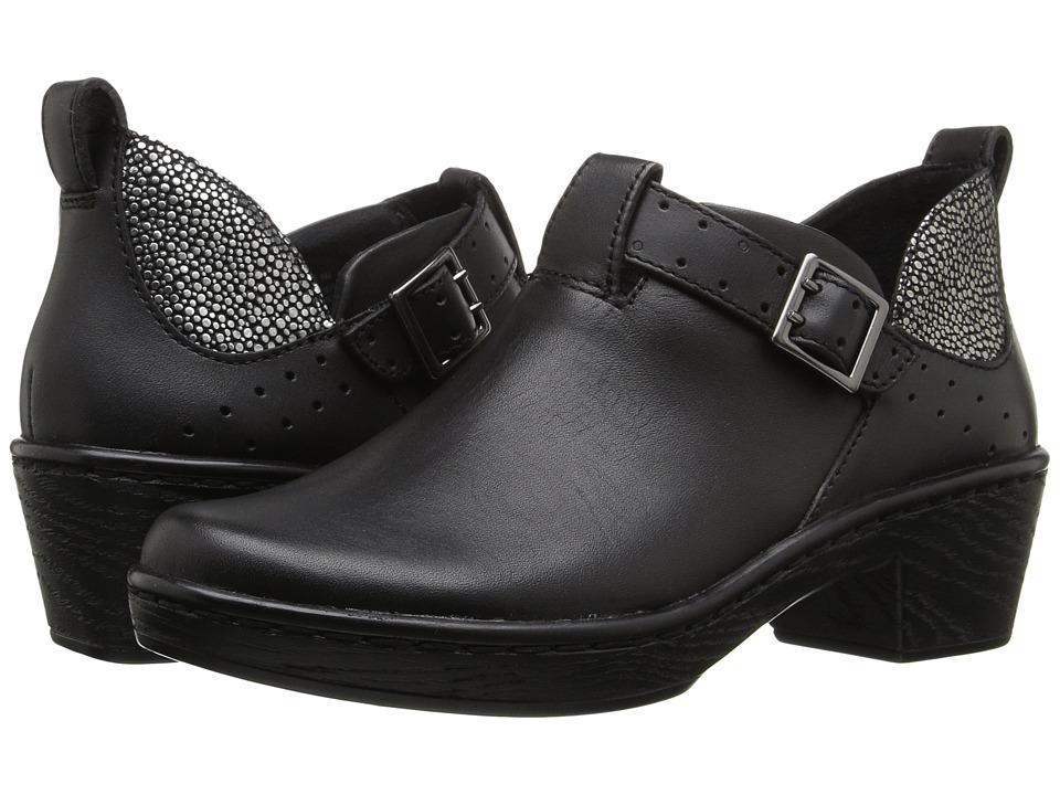 Klogs Footwear Odyssey (Black/Silver) Women