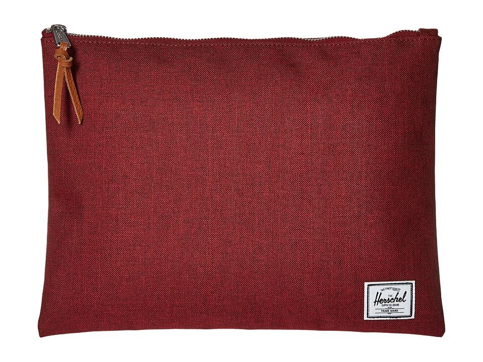 Herschel Supply Co. - Network Xl (Winetasting Crosshatch) Bags