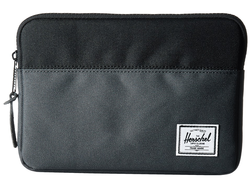 Herschel Supply Co. - Anchor Sleeve for iPad Mini (Dark Shadow/Black) Computer Bags