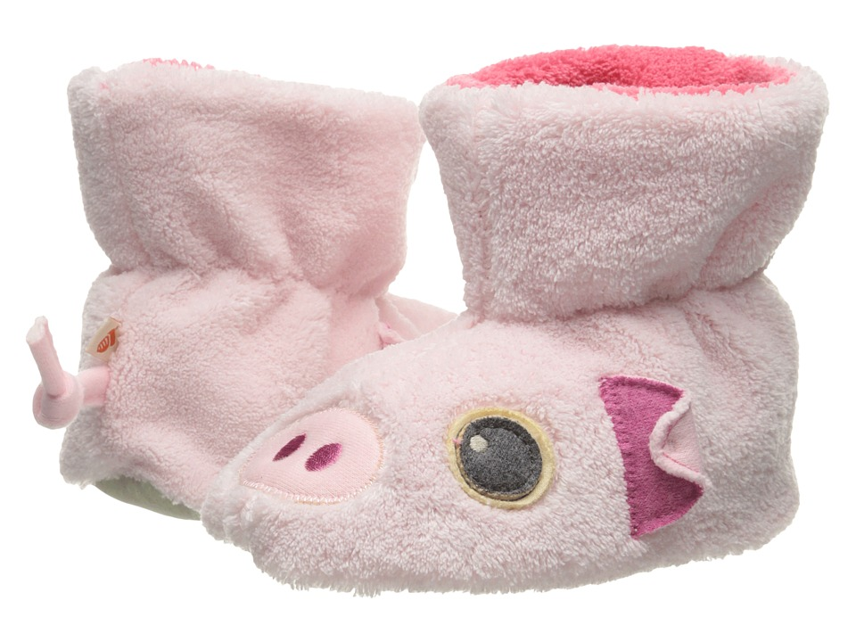 Acorn Kids - Easy Critter Bootie (Infant/Toddler) (Piggy) Girls Shoes