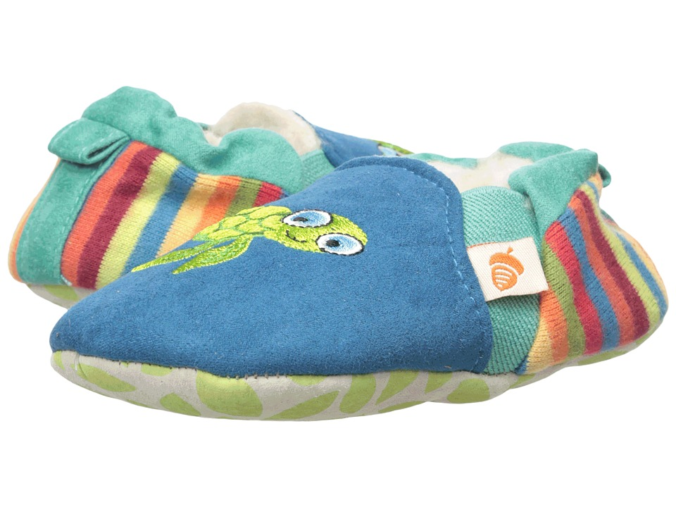 Acorn Kids - Easy-On Moc (Infant/Toddler) (Purple Owl) Kids Shoes