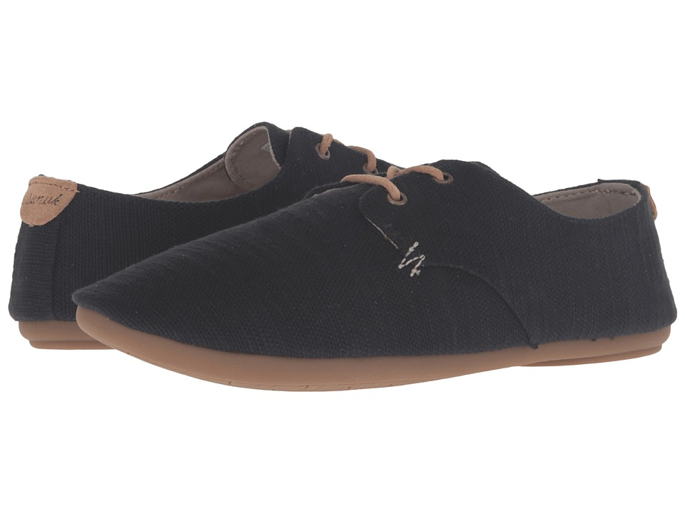 Sanuk - Bianca TX (Black Slub) Women's Slip on Shoes
