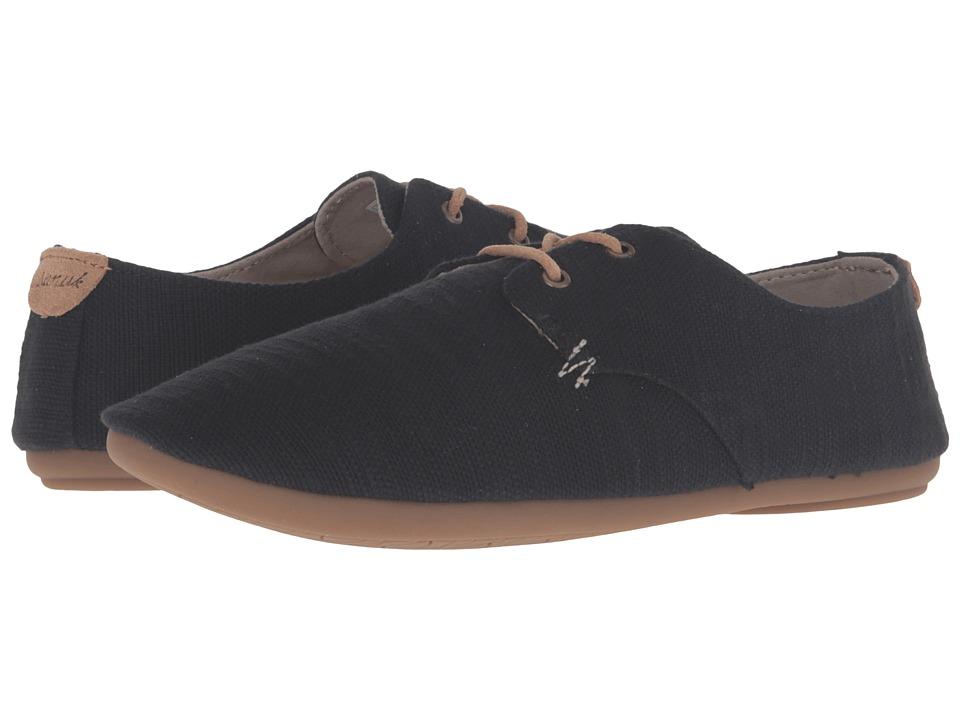 Sanuk - Bianca TX (Black Slub) Women's Slip on Shoes