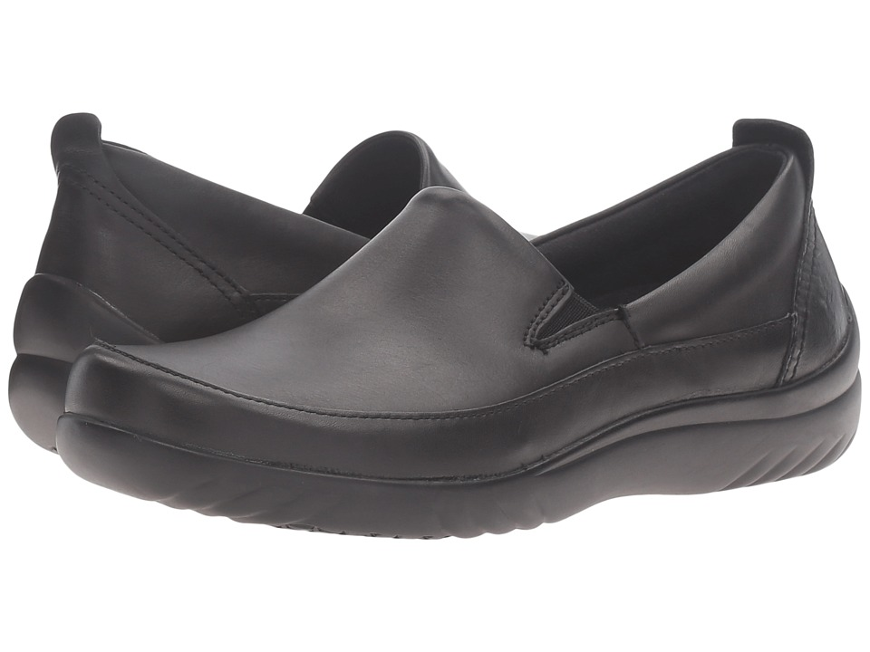 Klogs Footwear Ashbury (Black Full Grain) Women's Clog Shoes