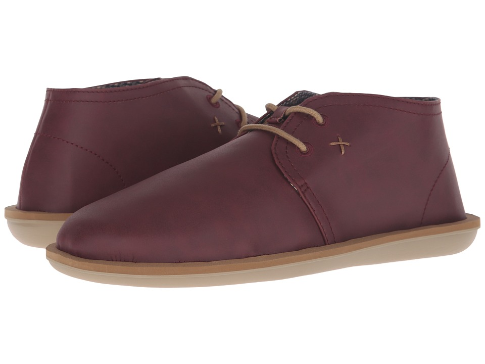 Sanuk - Koda Select (Ox Blood) Men's Lace up casual Shoes