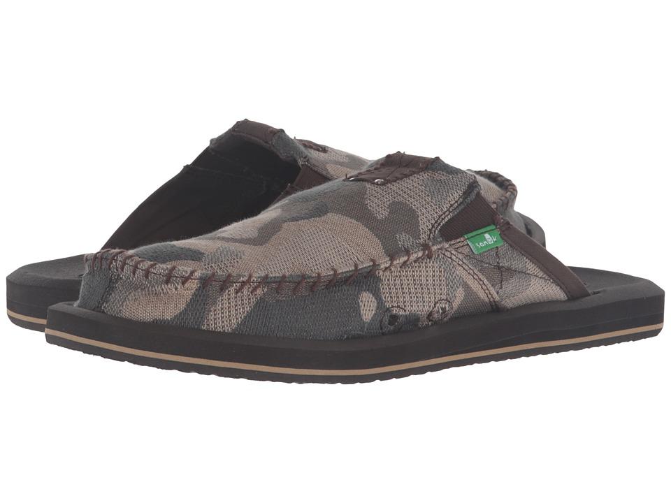 Sanuk - You Got My Back II Camo (Smoke Camo) Men's Sandals