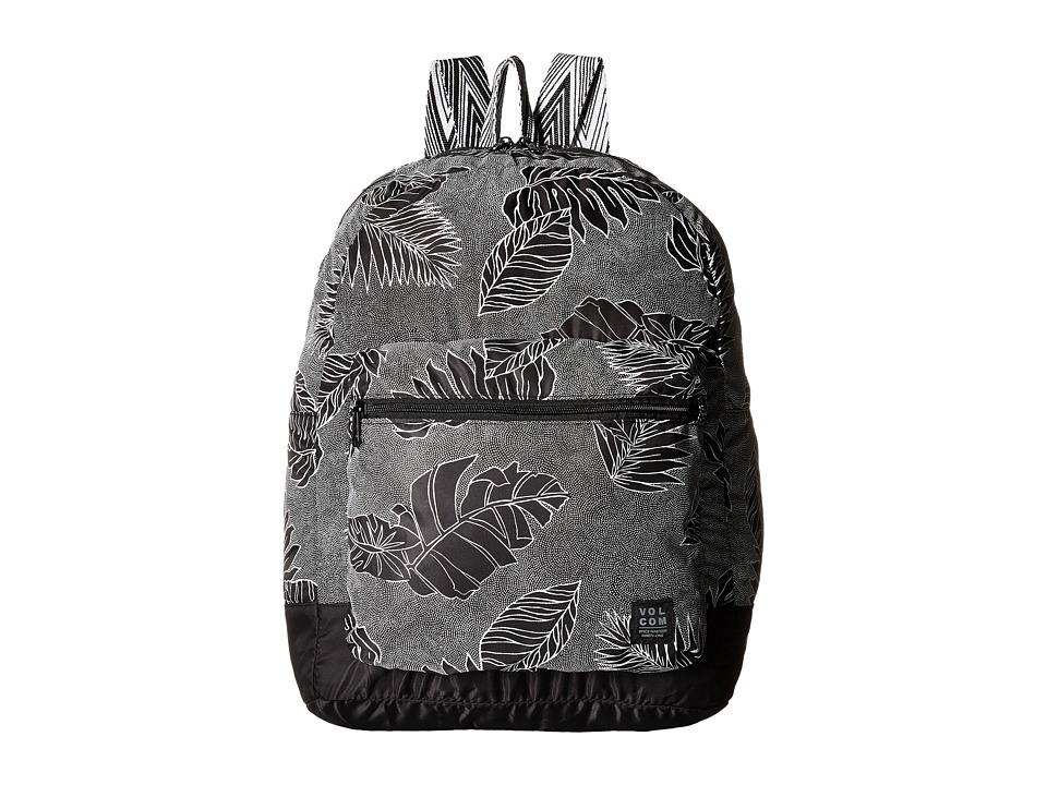 Volcom - Leaf Me Alone Backpack (Black) Backpack Bags