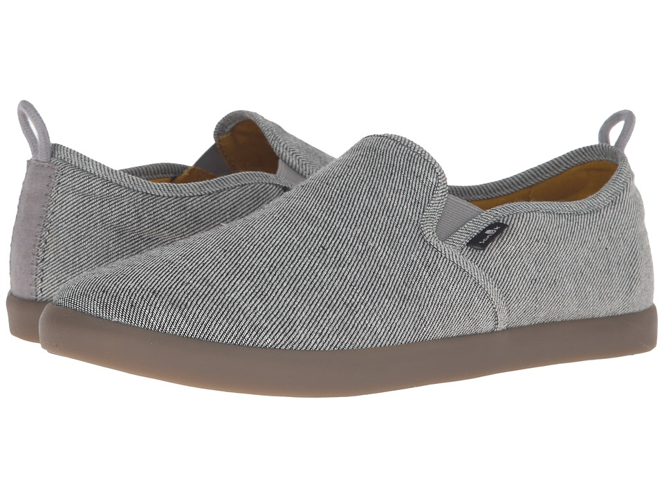 Sanuk - Range TX (Grey/Gum) Men's Slip on Shoes