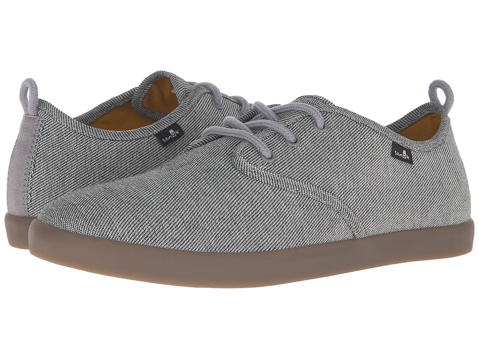 Sanuk - Guide TX (Grey/Gum) Men's Lace up casual Shoes