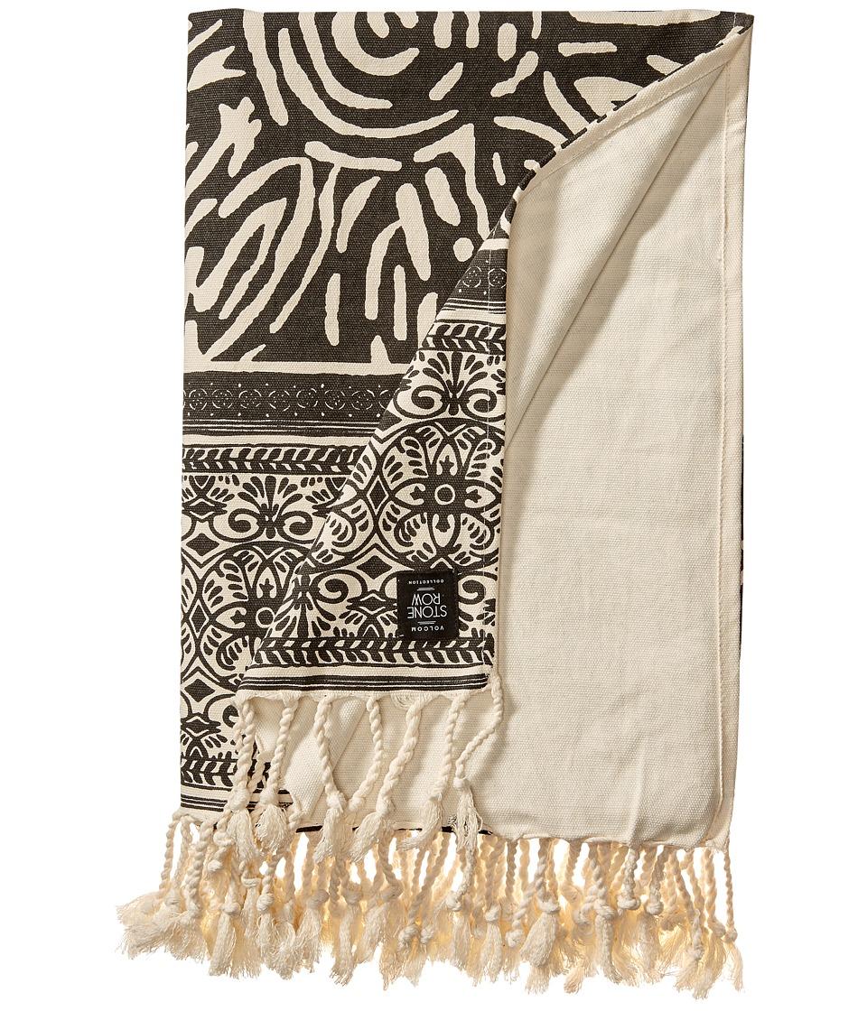 Volcom - Henna Blanket (Black) Blankets