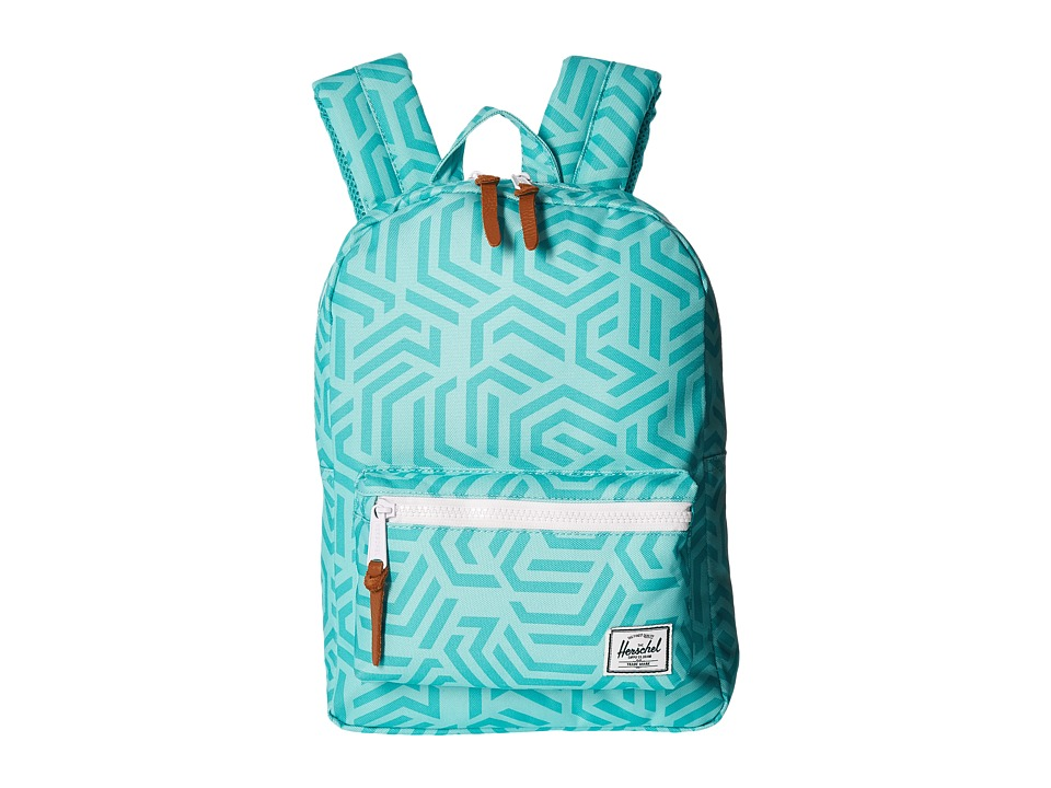 Herschel Supply Co. - Settlement Kids (Little Kids/Big Kids) (Teal Metric) Backpack Bags