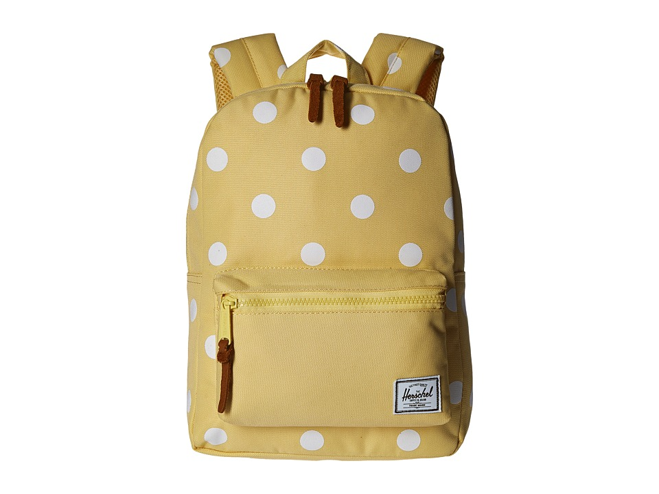 Herschel Supply Co. - Settlement Kids (Little Kids/Big Kids) (Popcorn/Natural Polka Dots/Popcorn) Backpack Bags