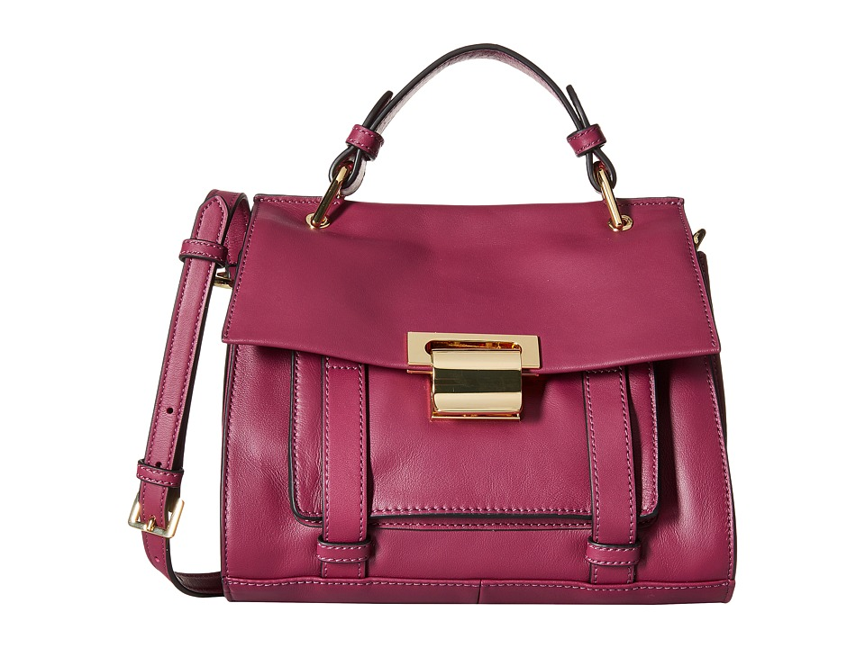 Ivanka Trump - Turner Small Satchel (Berry) Satchel Handbags