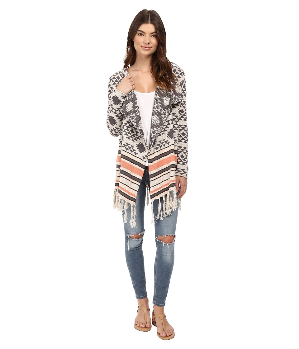 Rip Curl - Desert Nights Cardigan (Vanilla) Women's Sweater