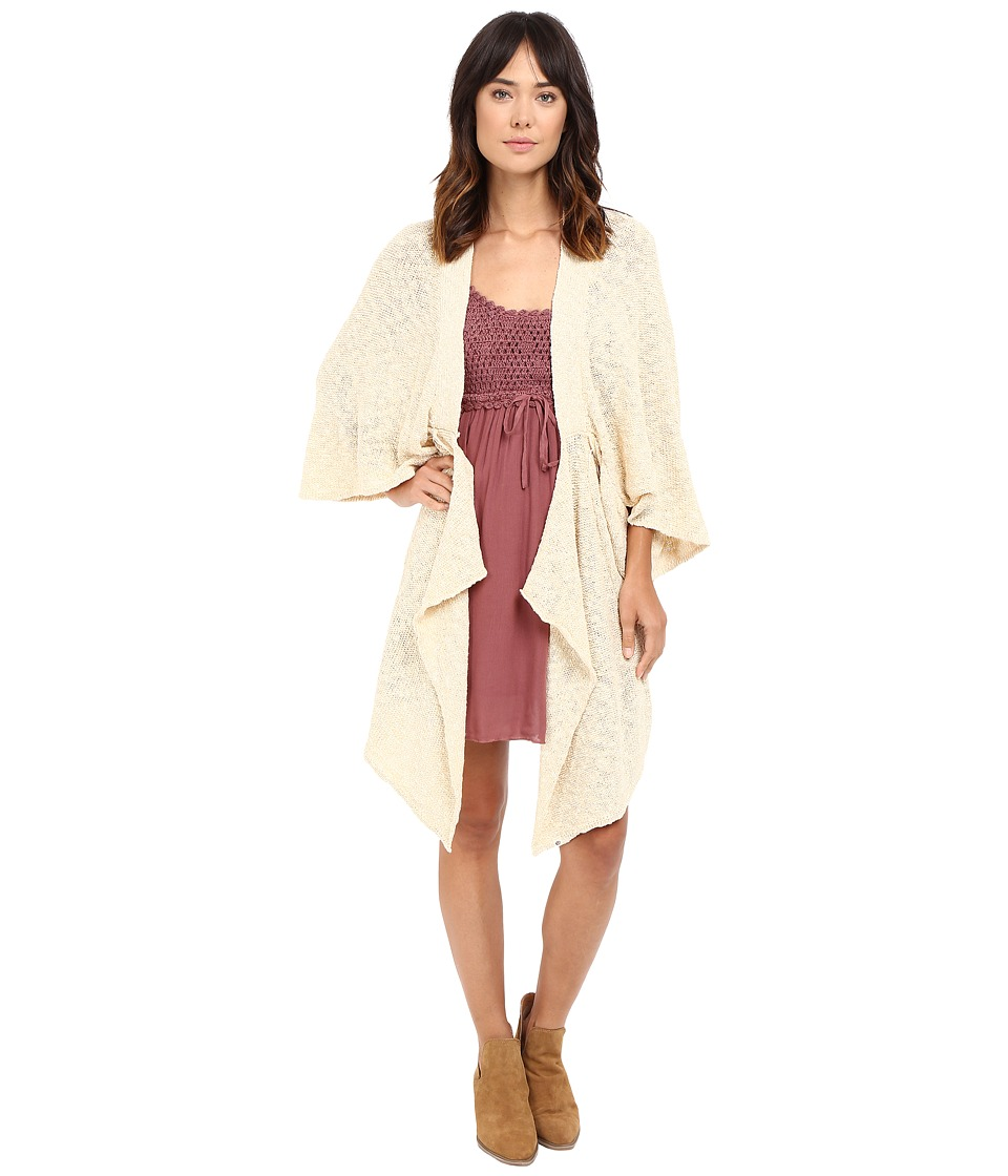 Rip Curl - Lola Cardigan (Natural) Women's Sweater