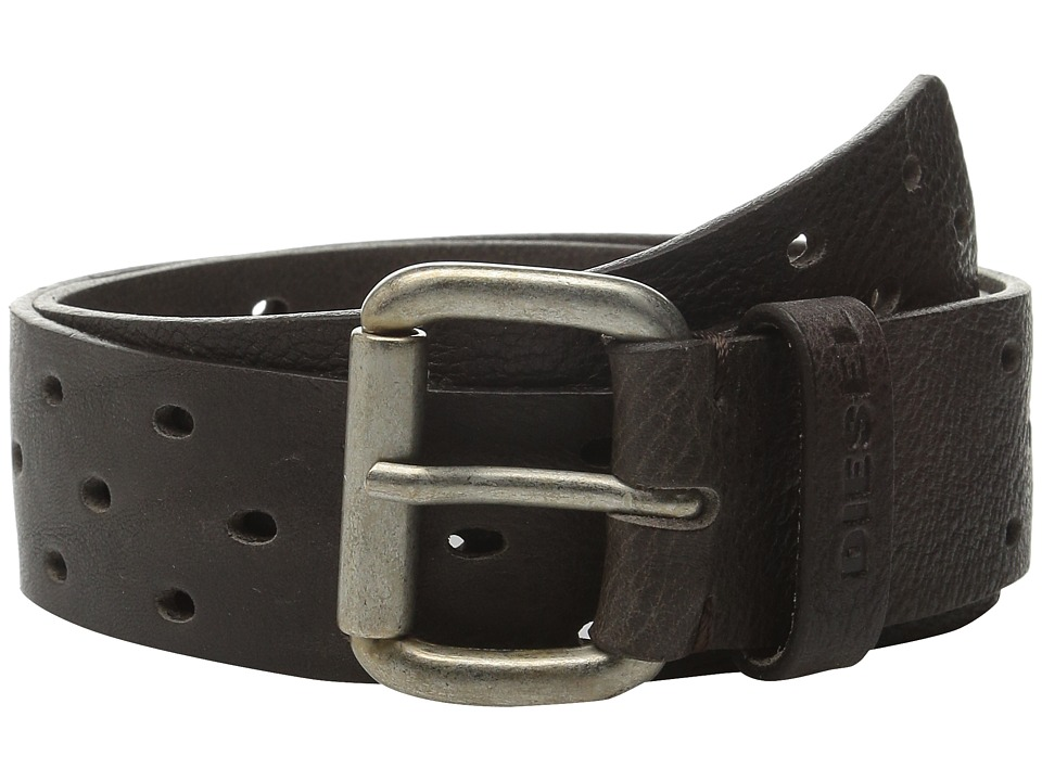 Diesel - B-Groove Belt (Black) Men's Belts