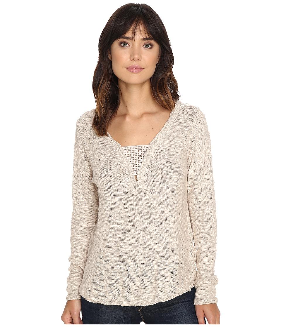 Rip Curl - Moondust Pullover (Vanilla) Women's Long Sleeve Pullover