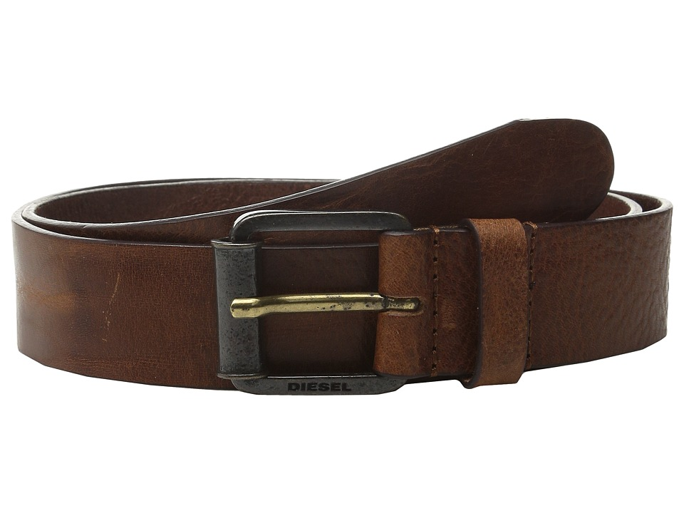 Diesel - B-Wring Belt (Dark/Black) Men's Belts