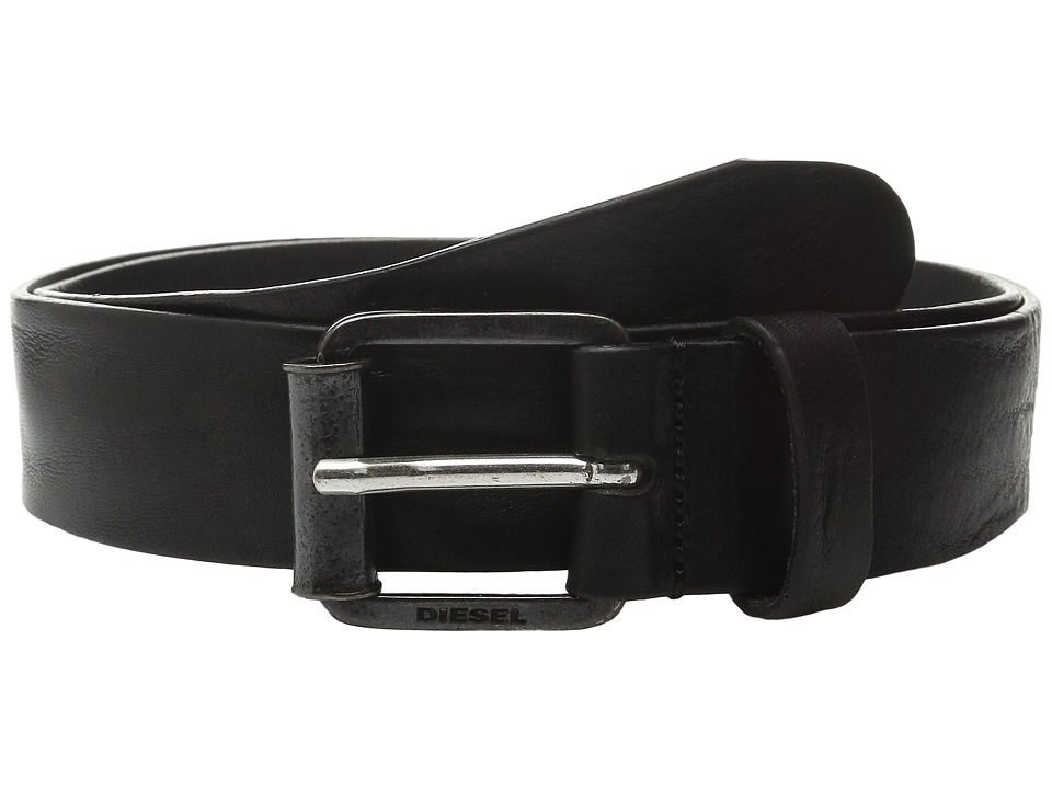 Diesel - B-Wring Belt (Black) Men's Belts