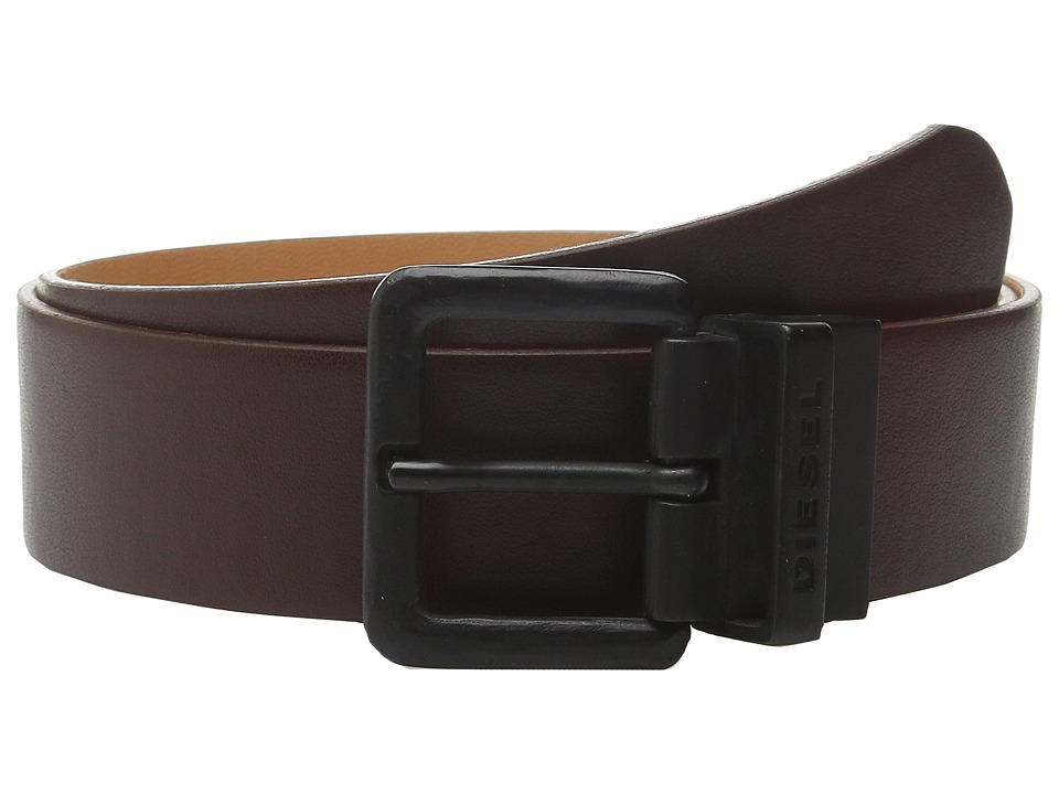 Diesel - B-Double C Belt (Medium/Brown) Men's Belts