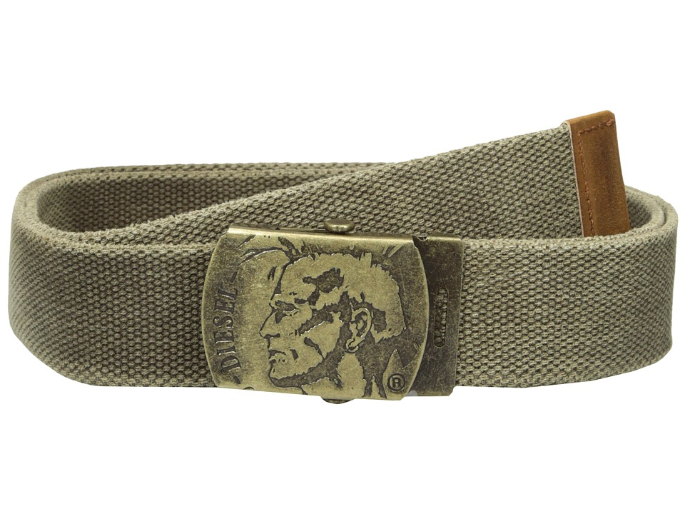 Diesel - B-Washy Belt (Olive/Green) Men's Belts
