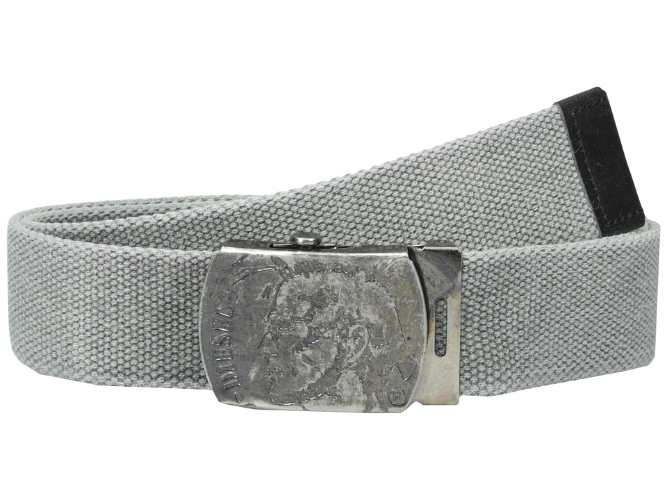 Diesel - B-Washy Belt (Grey) Men's Belts