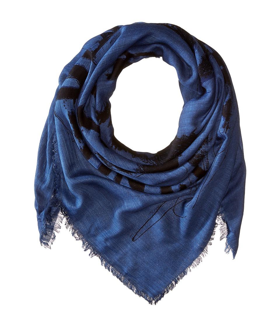 Diesel - Swillot Scarf (Midnight/Blue) Scarves