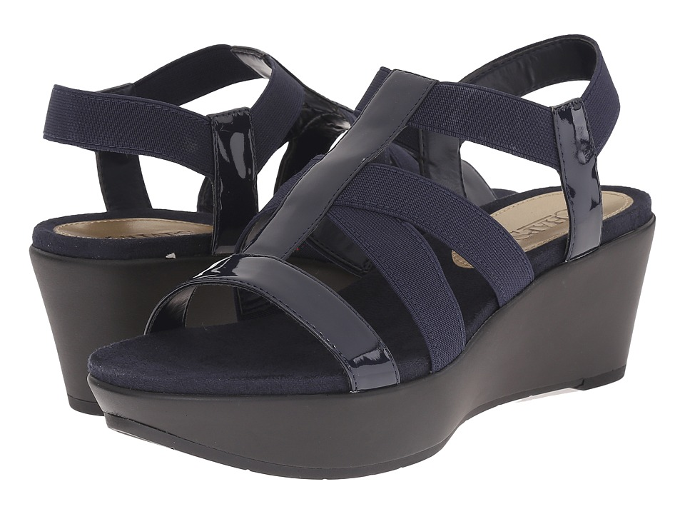 LAUREN Ralph Lauren - Wilda (Modern Navy) Women's Wedge Shoes