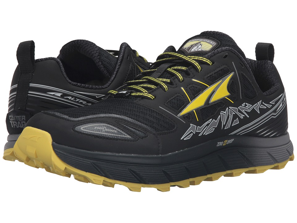Altra Footwear - Lone Peak 3 (Black/Yellow) Men's Shoes