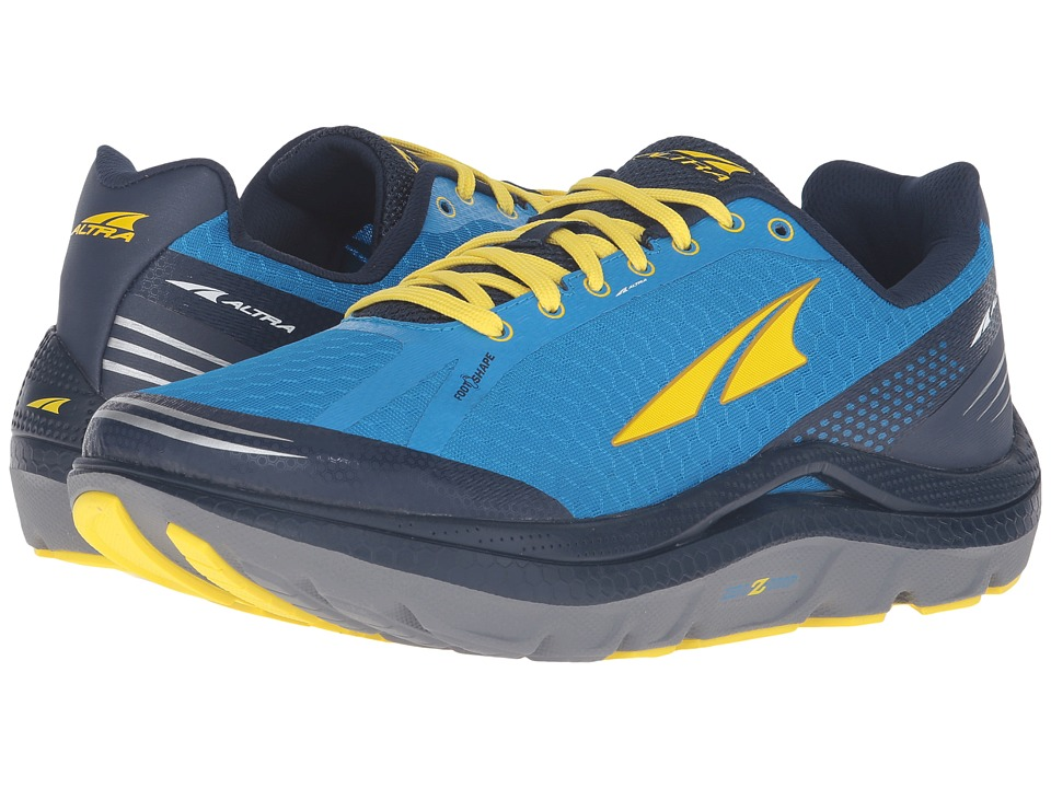 Altra Footwear - Paradigm 2 (Blue/Yellow) Men's Shoes