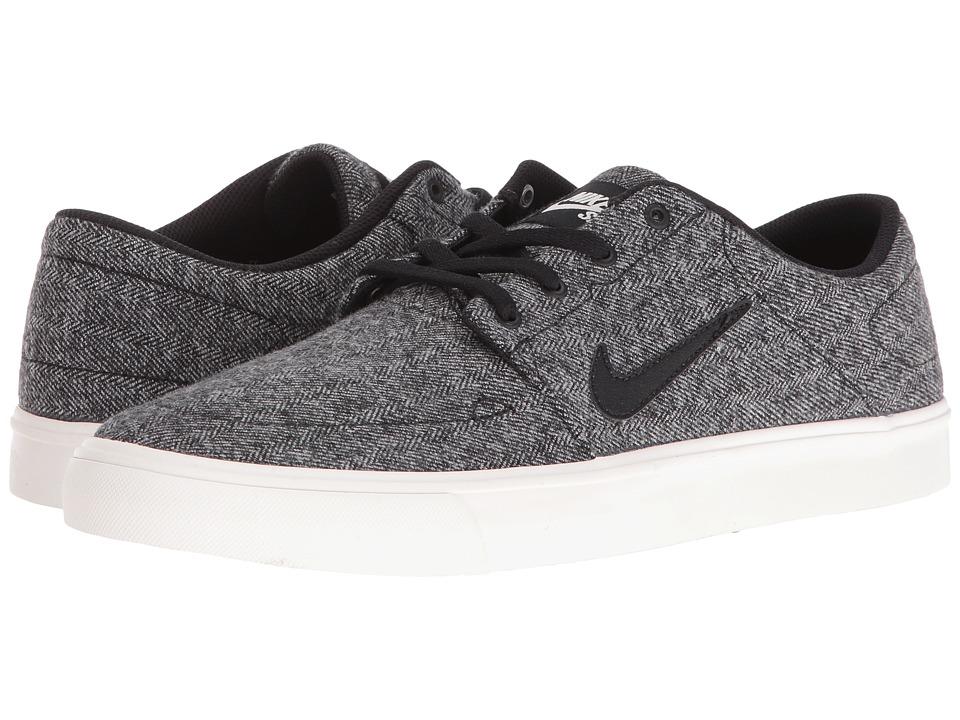 Nike SB - Portmore Canvas Premium (Ivory/Black) Men's Skate Shoes