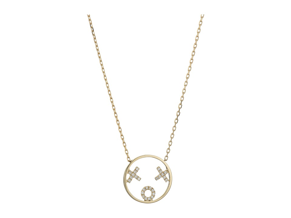 RUIFIER - XOXO Necklace (9ct Yellow Gold) Necklace
