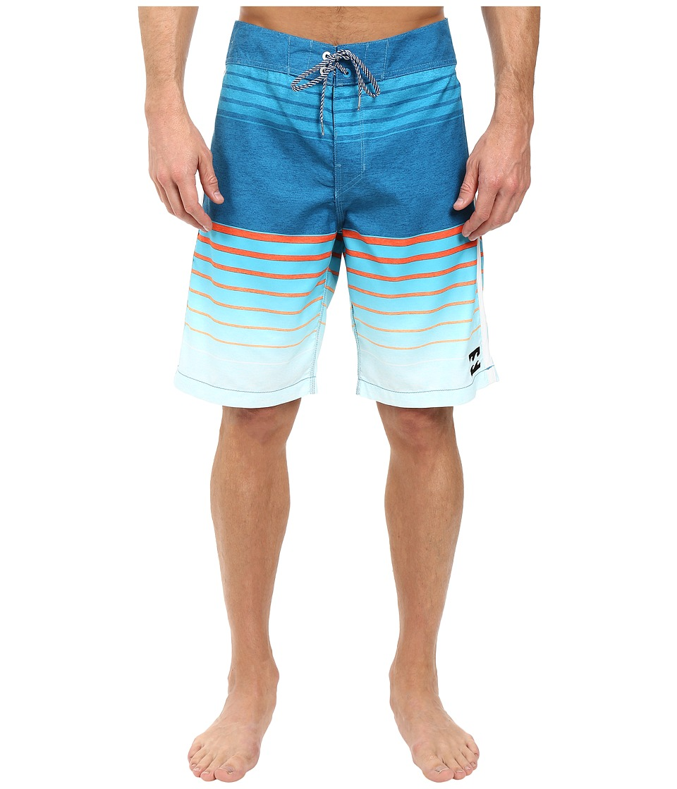 Billabong - All Day Faded 21 Boardshorts (Ocean) Men's Swimwear