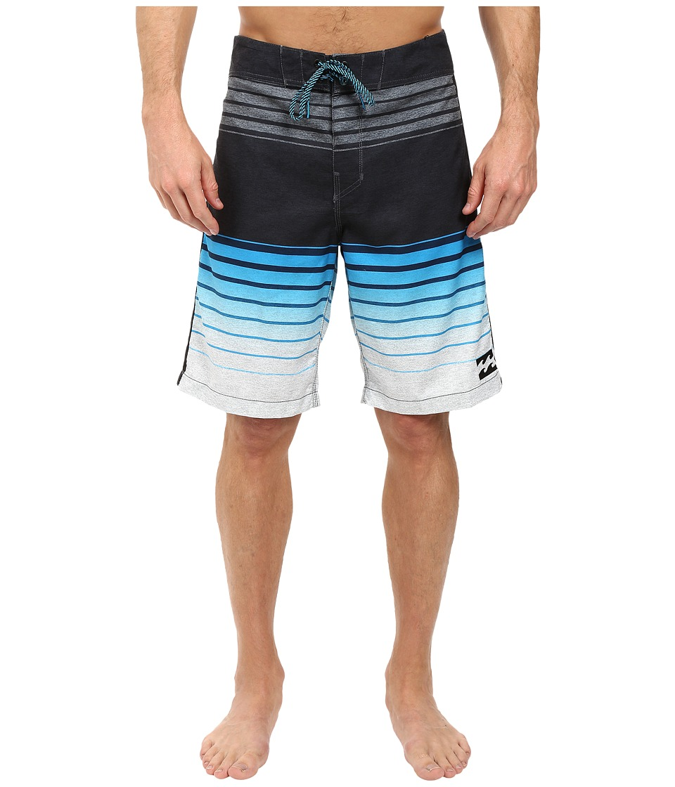 Billabong - All Day Faded 21 Boardshorts (Electric Blue) Men's Swimwear