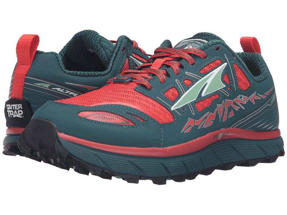 Altra Footwear Lone Peak 3 (Red/Deep Sea) Women