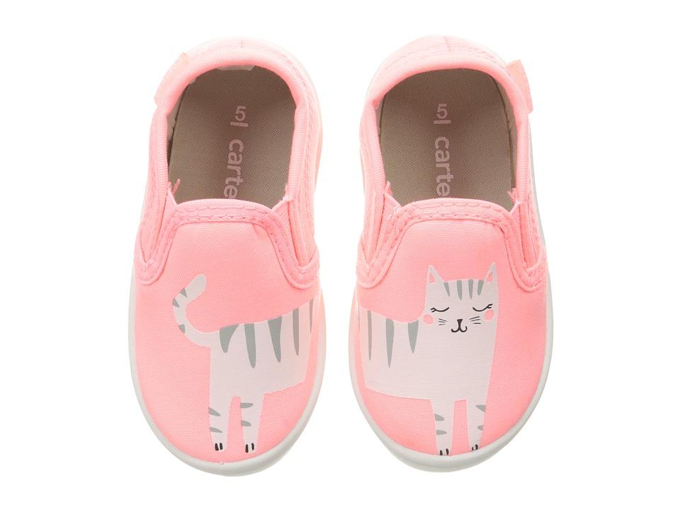 Carters - Tween 4 (Toddler/Little Kid) (Pink) Girl's Shoes