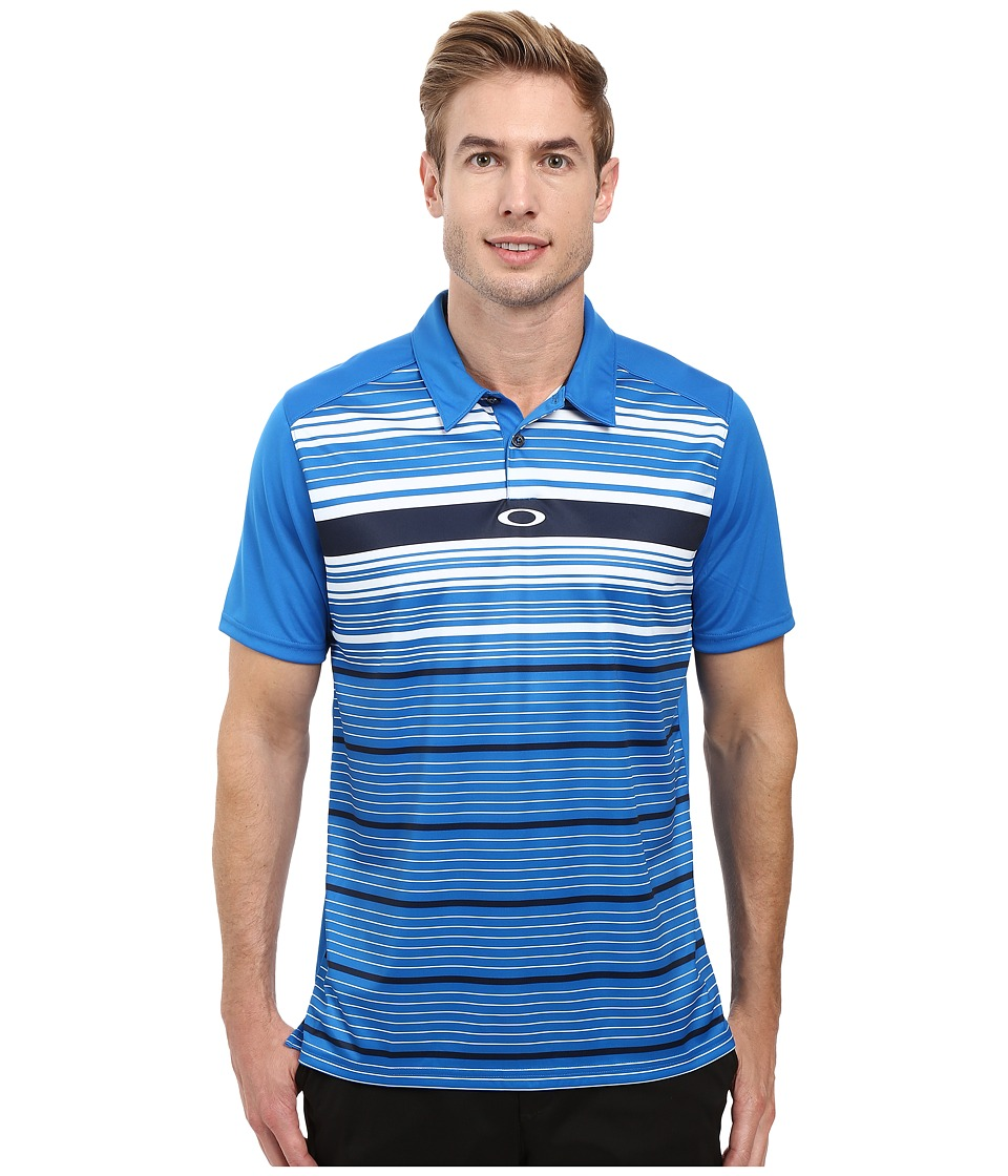Oakley - Legacy Polo (Ozone) Men's Short Sleeve Pullover