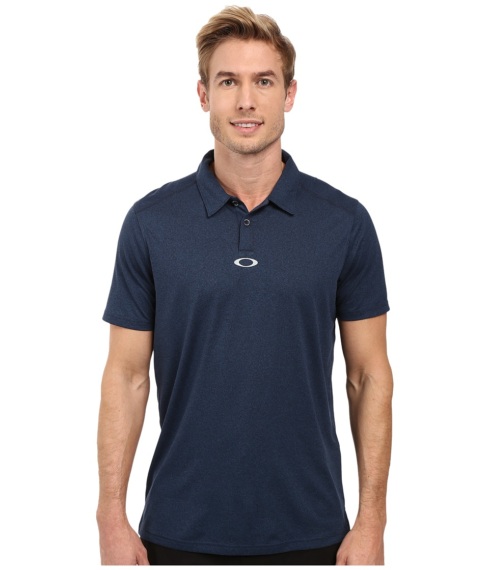 Oakley - Roman Polo (Fathom Heather) Men's Short Sleeve Pullover