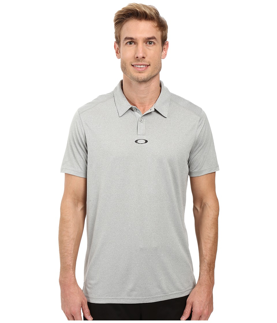 Oakley - Roman Polo (Stone Grey Heather) Men's Short Sleeve Pullover