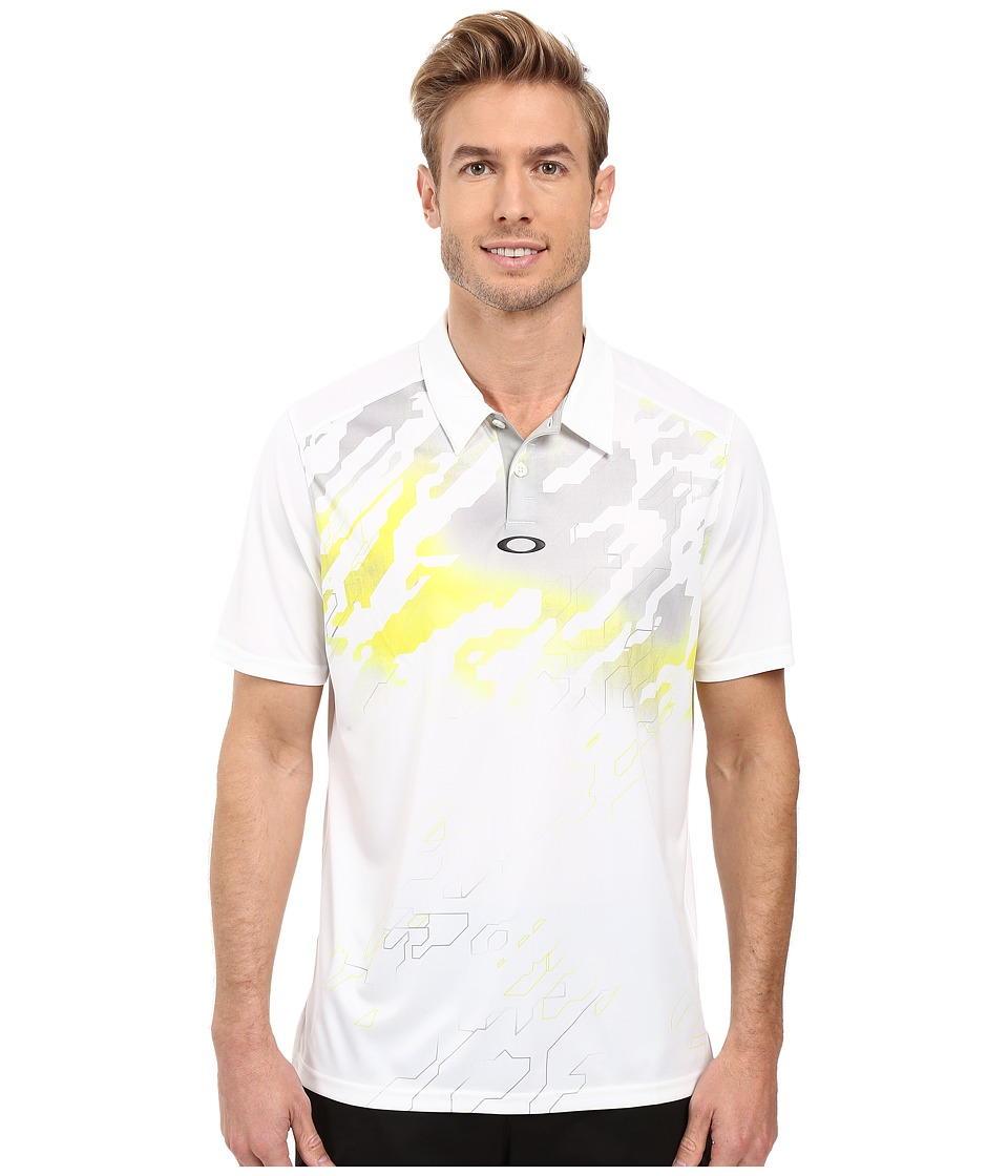 Oakley - Cryptic Polo (White) Men's Short Sleeve Knit