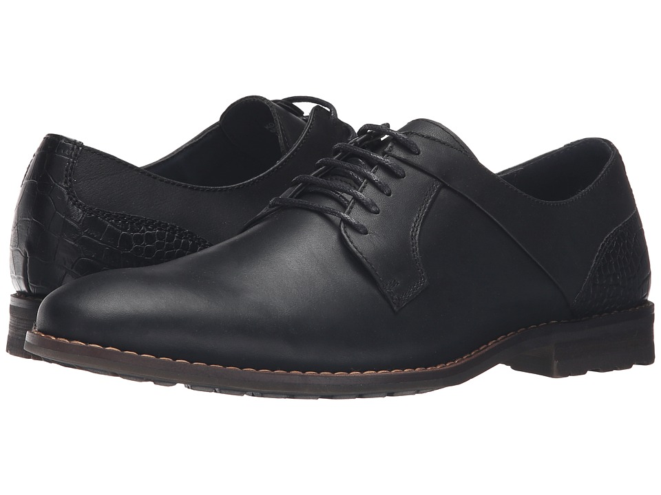 Steve Madden Kojaxx (Black Leather) Men