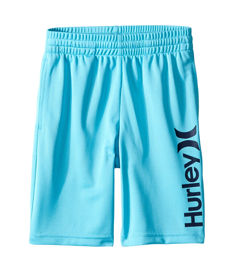 Hurley Kids - One and Only Dri Fit Shorts (Little Kids) (Beta Blue) Boy's Shorts