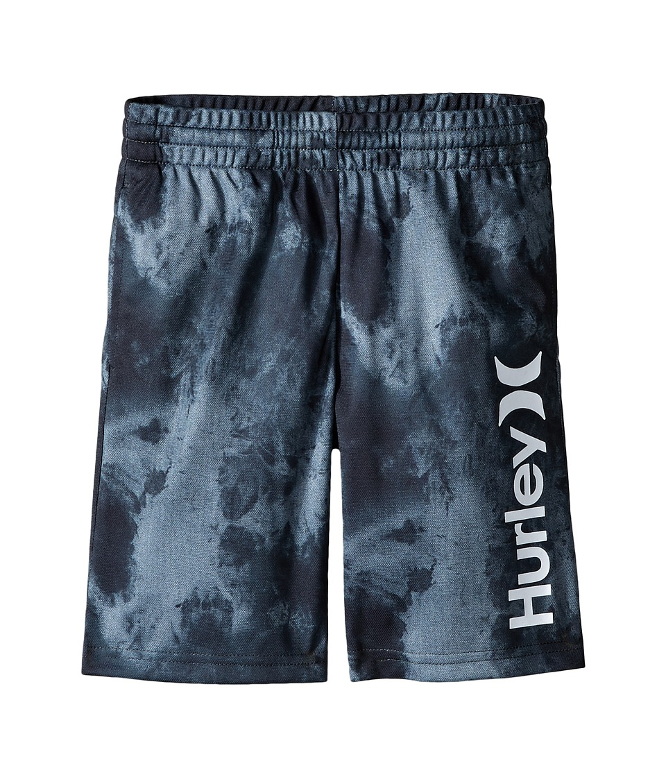 Hurley Kids - One and Only Dri Fit Shorts (Little Kids) (Anthracite) Boy's Shorts