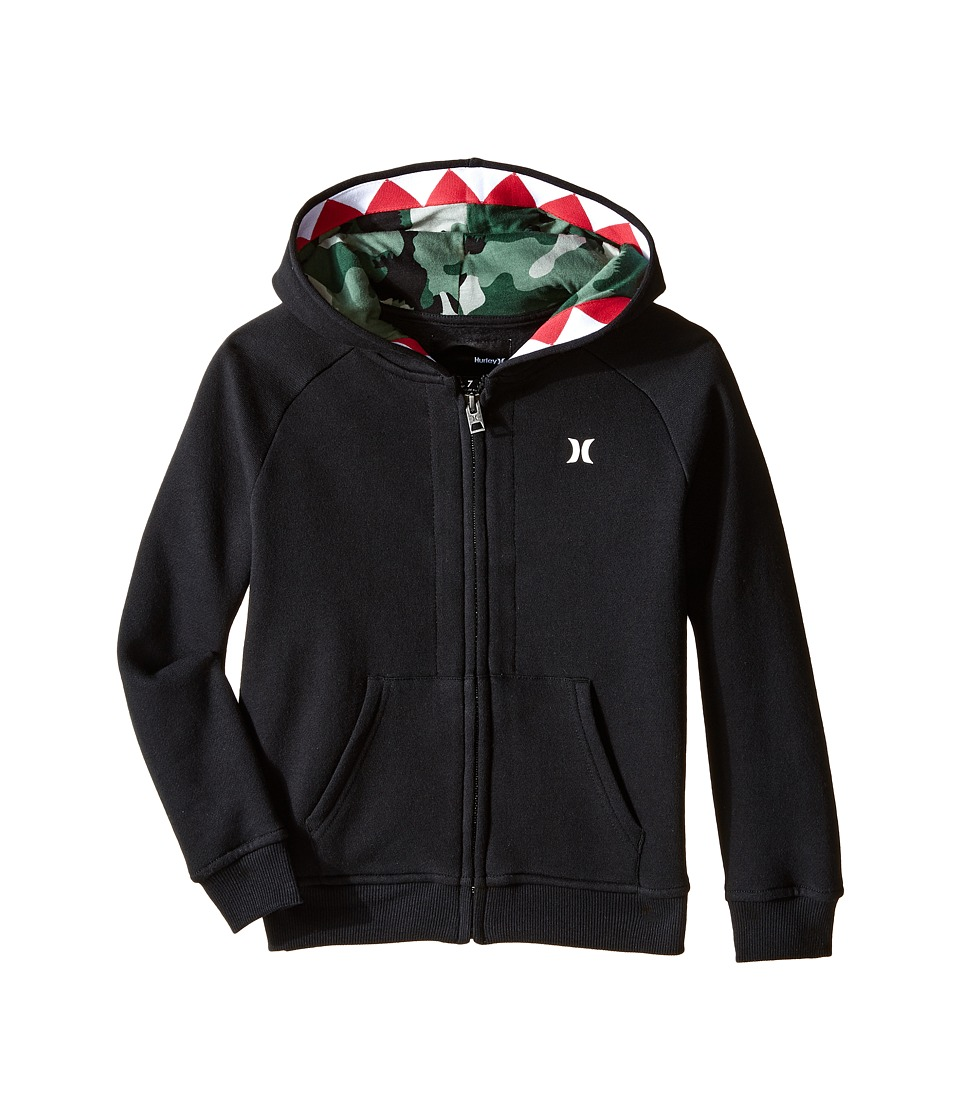 Hurley Kids - Creature Hoodie (Little Kids) (Black) Boy's Sweatshirt