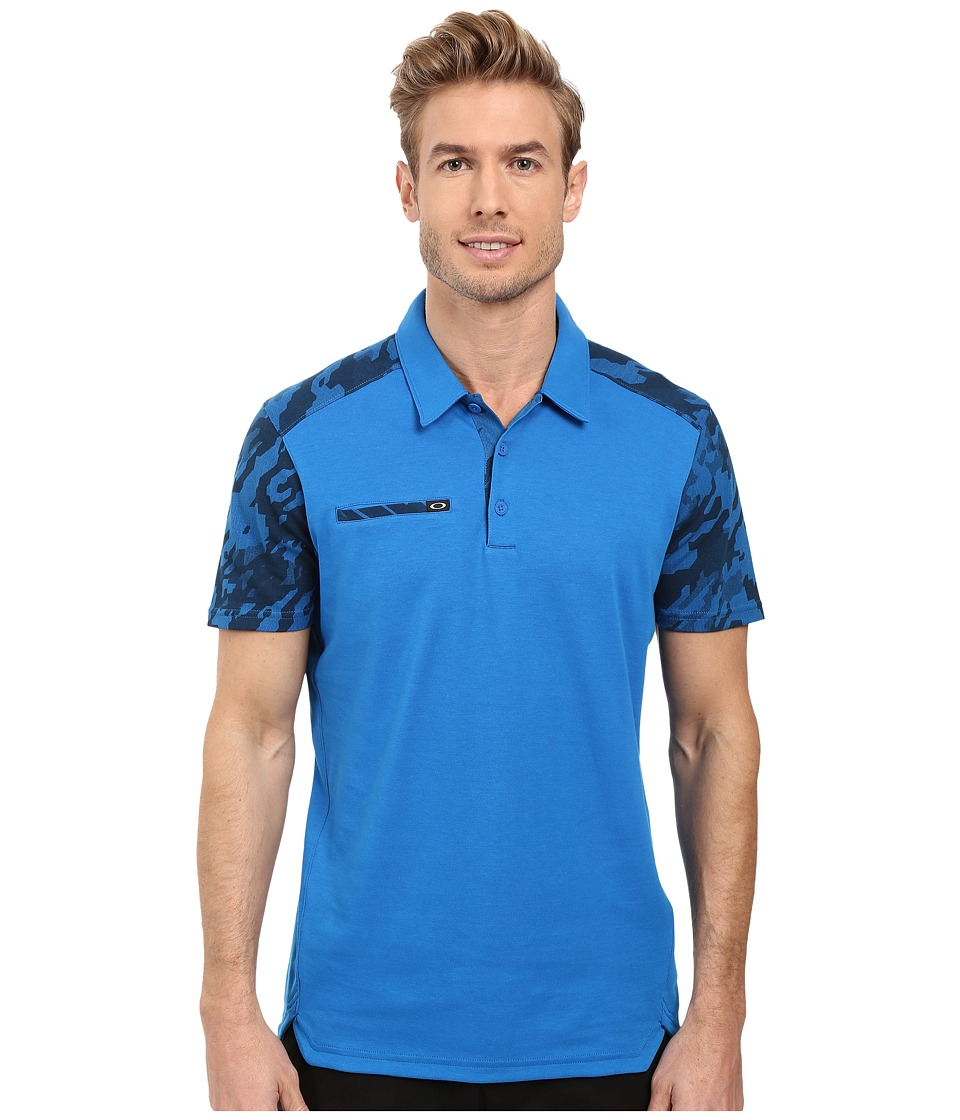 Oakley - Venom Polo (Ozone) Men's Short Sleeve Knit