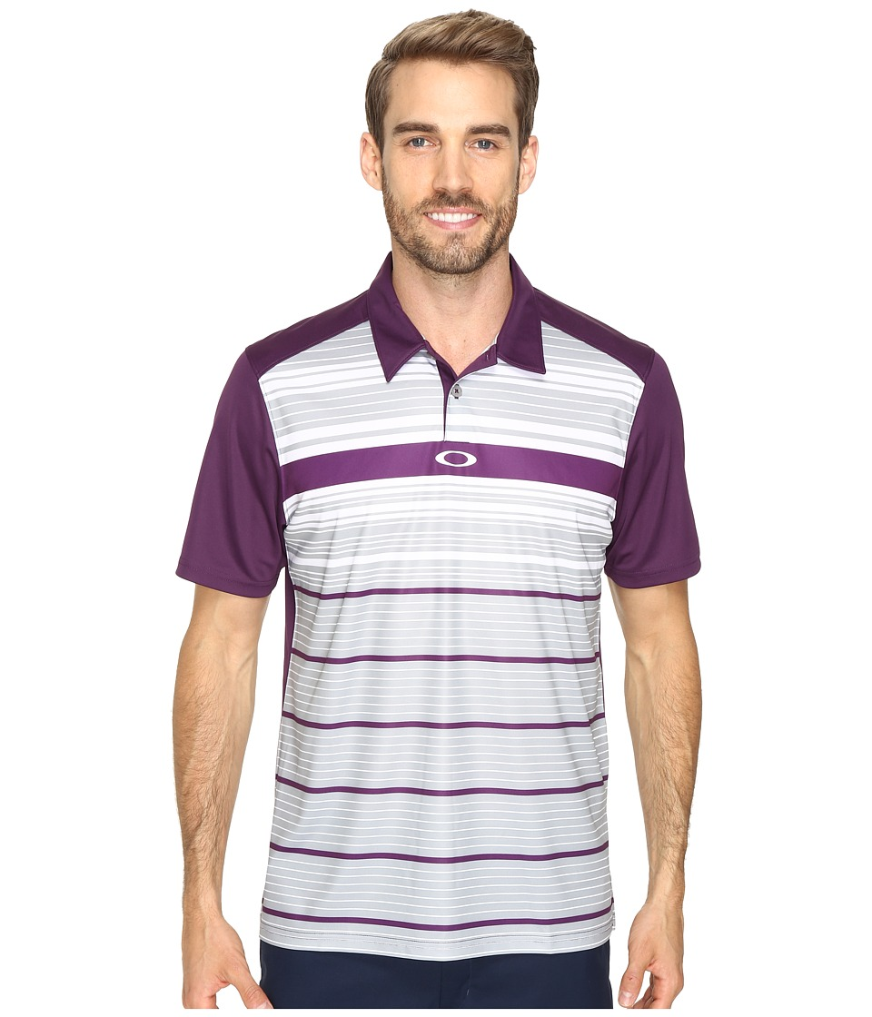 Oakley - Legacy Polo (Deep Plum) Men's Short Sleeve Pullover