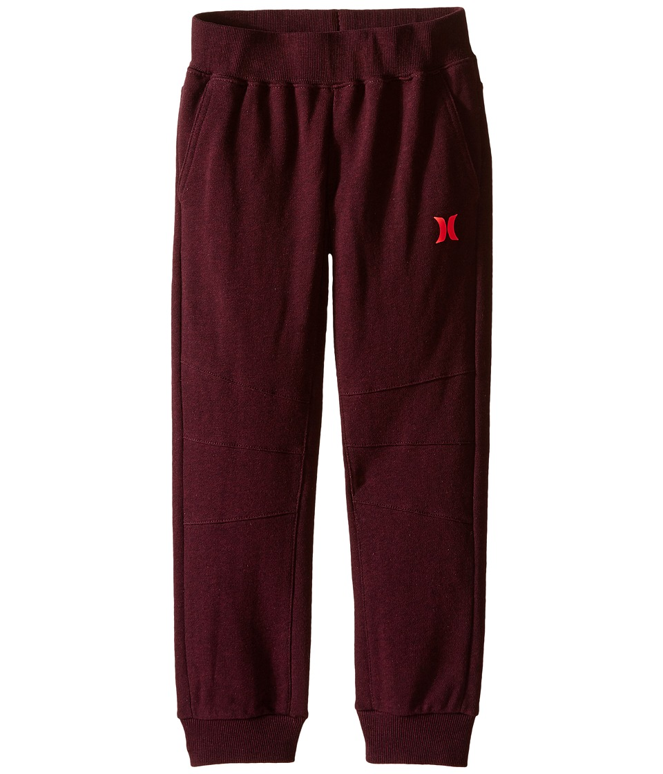 Hurley Kids - Varsity French Pants (Little Kids) (Night Maroon Heather) Boy's Casual Pants