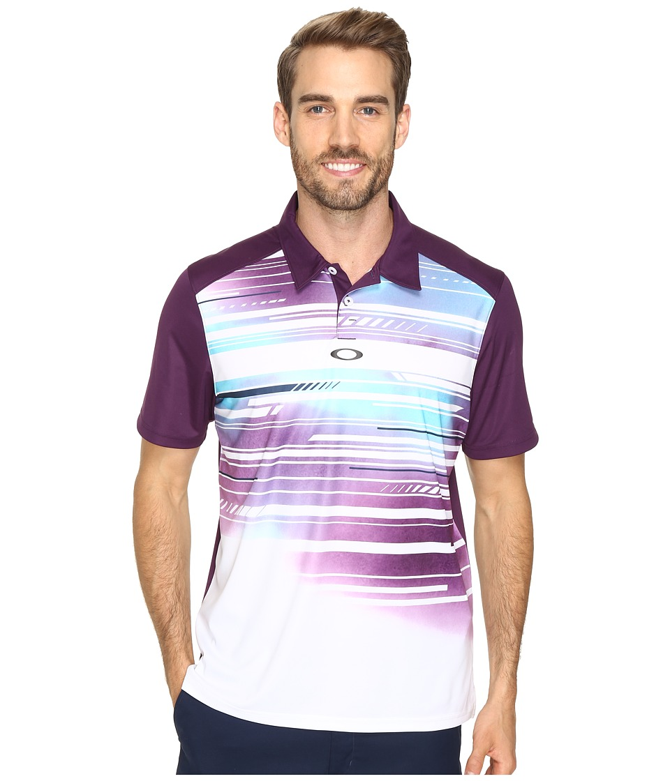 Oakley - Provoking Polo (Deep Plum) Men's Short Sleeve Knit